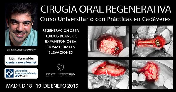 Daniel Robles Cantero presenta el Próximo Curso de Cirugía Avanzada Regenerativa con Prácticas en Cadáveres dental innovation