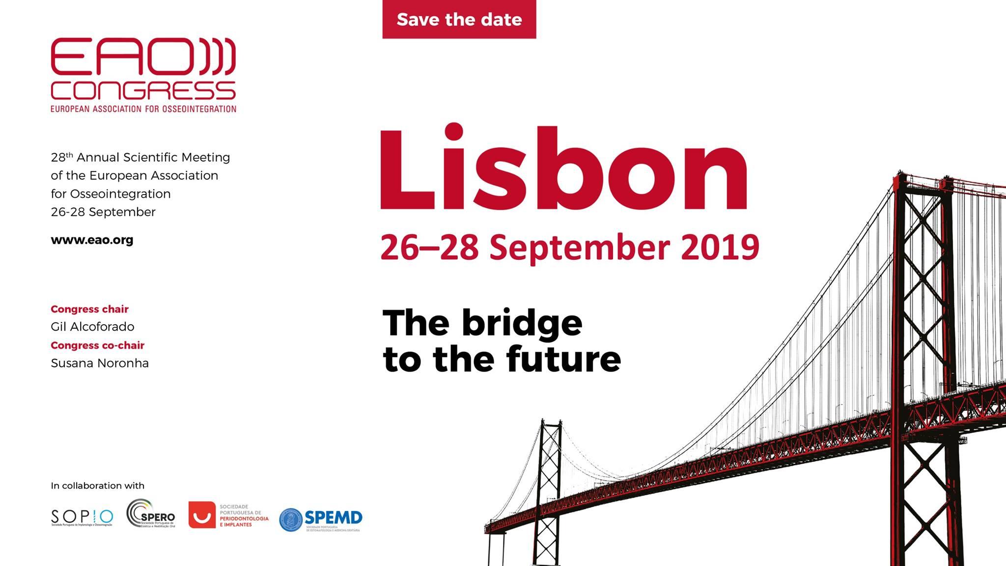 28a reunión científica anual de la EAO dental innovation calendar