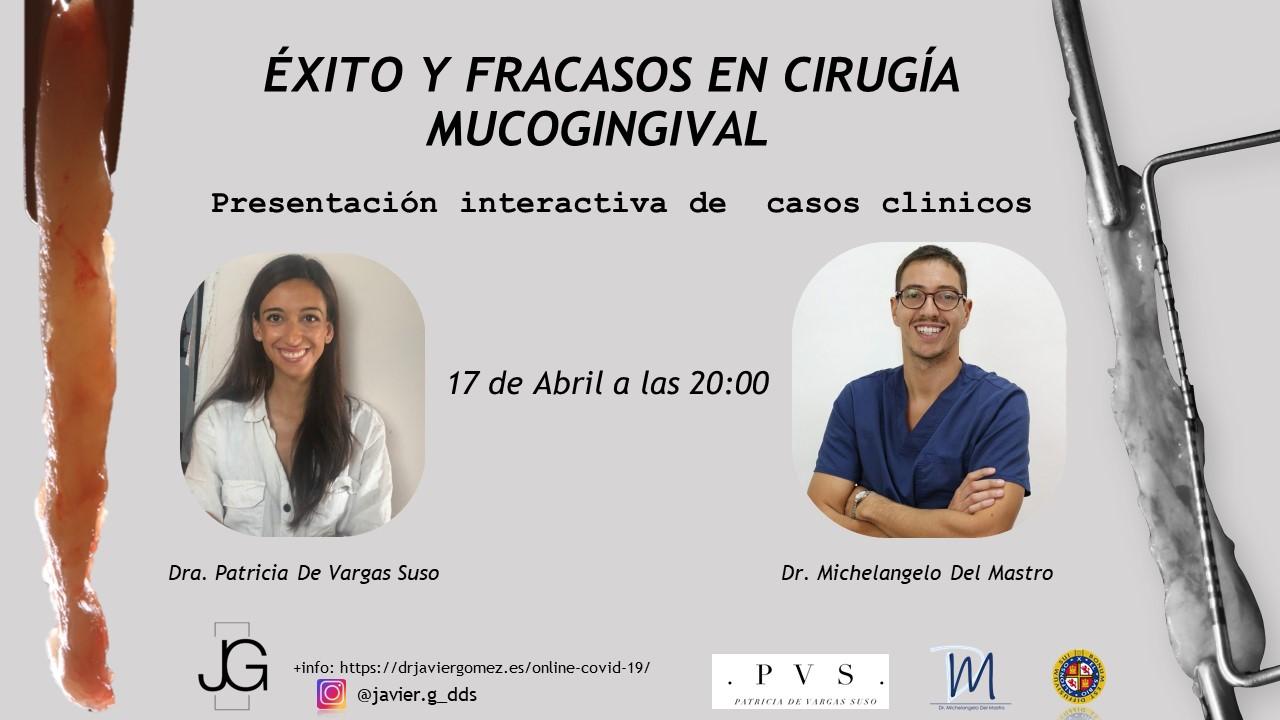 Exito y Fracasos en Cirugía Mucogingival webinar dental innovation periodoncia